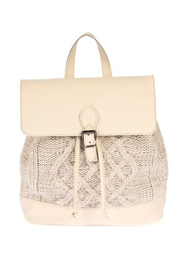 House Bags Kadın Sırt Çantası Bej