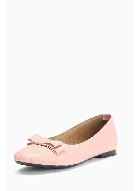 Shoes1441 Kadın Babet Pudra İndirimli Fiyat