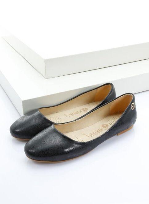 Italian Shoes Kadın Babet Sıyah (Sım)/Black (Sım)