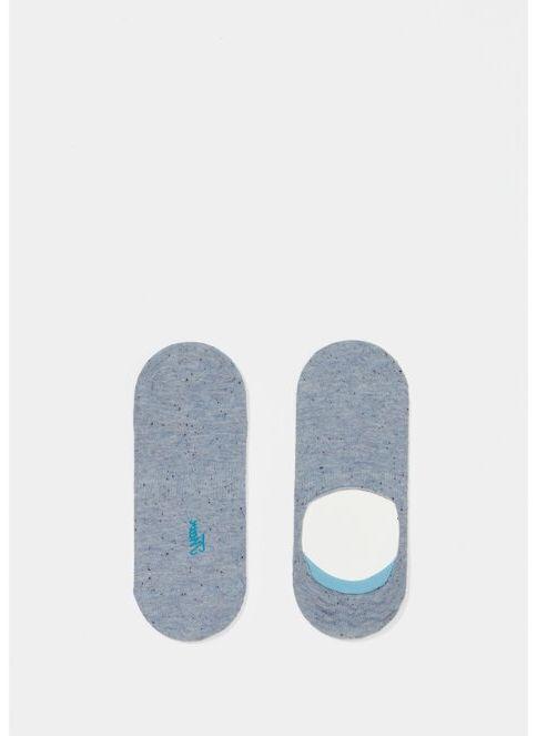 Mavi Kadın Babet Çorabı Orta Mavi