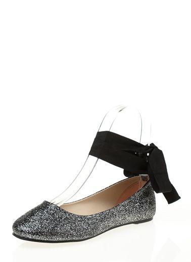 Koton - Kadın - Bilekten Bağlamalı Babet - 8KAK21021AA Shoes,Black ...