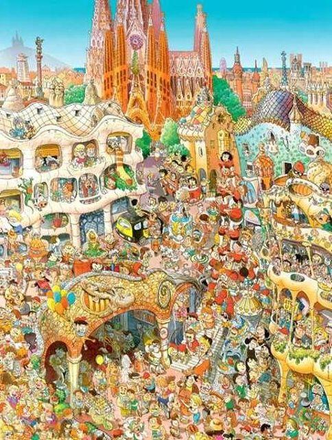 Heye Puzzle Standart Barcelona, Prades (1500 parça) Renkli ...