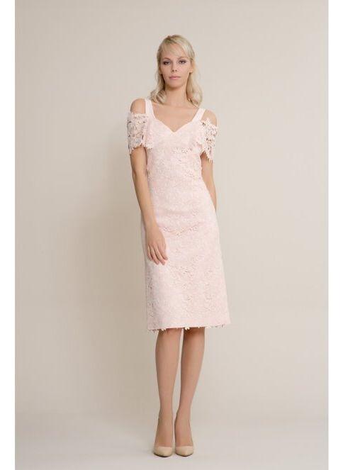 GIZIA Elbise 7177/02 Powder. İndirimli Fiyat
