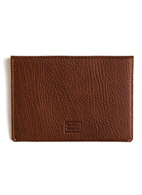 Leather \u0026 Paper Standart Deri Pasaport Kılıfı \u0026 Kartlık Kahverengi ...