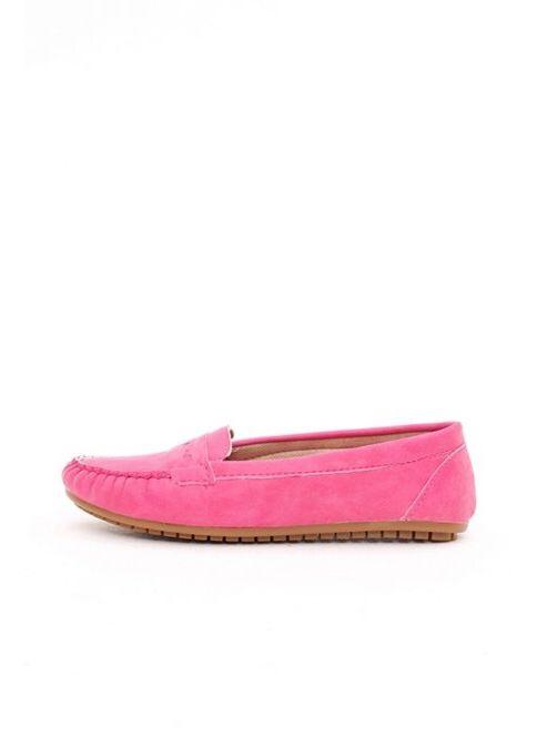 Shoes1441 Kadın Babet Fuşya İndirimli Fiyat