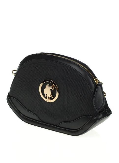 U.S. Polo Assn. Kadın Messenger / Askılı Çanta Sıyah-Sıyah ...