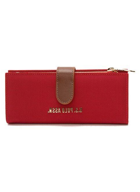 U.S. Polo Assn. Kadın Clutch / El Çantası Kırmızı İndirimli Fiyat ...