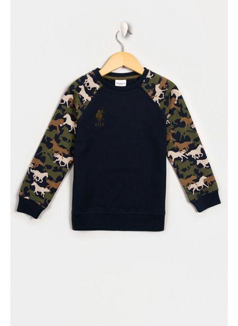 U.S. Polo Assn. Sweatshirt Lacivert İndirimli Fiyat