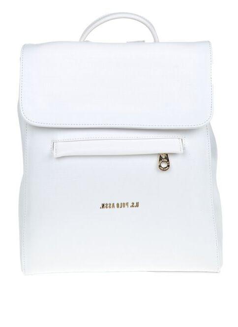 U.S. Polo Assn. Kadın Sırt Çantası Beyaz